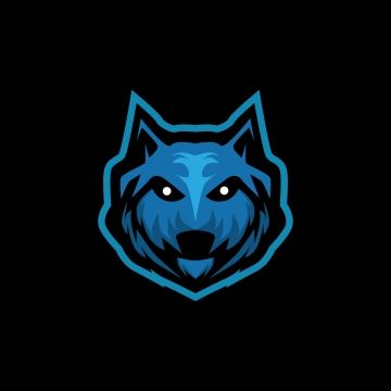 Wolf Head E Logo Gaming Mascot Logo Icons Wolf Icons Head Icons Png And Vector With Transparent Background For Free Download Team Logo Design Mascot Logo Icons