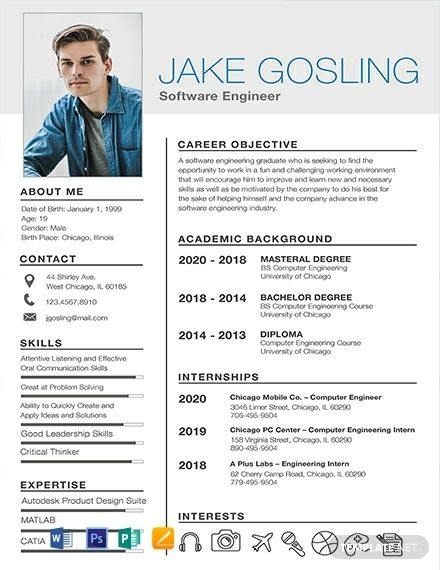 Free Simple Fresher Resume Cv Template Word Doc Psd Apple Mac Pages Publisher Free Resume Template Word Student Resume Template Resume Template Word