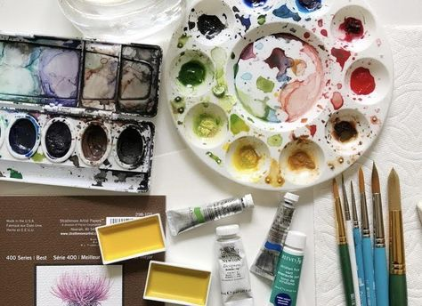 Lemons & Lavender Watercolor Class with Amy Jamison - Saturday, July 10th
