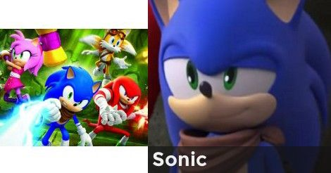 Which Sonic Boom Character Are You Sonic Sonic Boom Which Character Are You