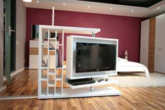 18 Tv Room Dividers That Increase Privacy And Functionality Mecc Interiors Modern Room Divider Living Room Divider Tv Stand Room Divider