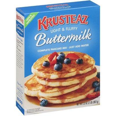 Krusteaz Buttermilk Pancake Mix 32oz Buttermilk Pancake Mix Pancakes Mix Buttermilk Pancakes