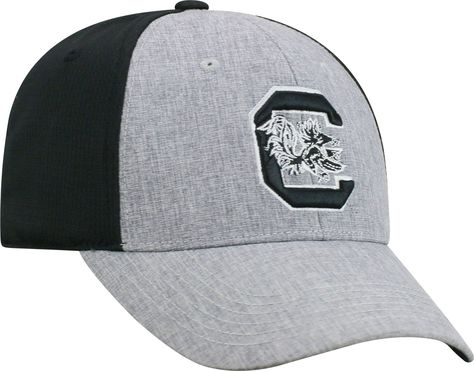 newest 1b2c2 26649 Top of the World Men s South Carolina Gamecocks Grey Black Faboo 1Fit Hat