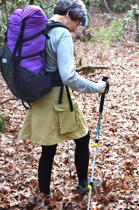 Judy Gross Is The Founder And Creative Director Of Lightheart Gear A Company Dedicated To Creating Innovative Fu Hiking Skirt Hiking Outfit Hiking Outfit Men