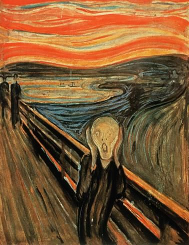 Image result for van gogh the scream