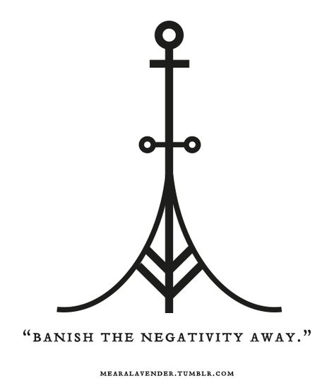"mearalavender: "" ""Banish the negativity away. May this sigil be in your favour. ♥ Feel free to use it, but please don't post it as your own. "" symbols witchcraft Witch Of Nature Wiccan Symbols, Magic Symbols, Ancient Symbols, Viking Symbols And Meanings, Egyptian Symbols, Celtic Symbols, Wiccan Tattoos, Viking Tattoos, Viking Tattoo Symbol"