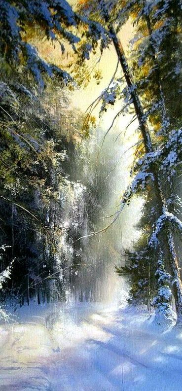 Gorgeous Need I Say More Winter Painting Winter Landscape Winter Scenes