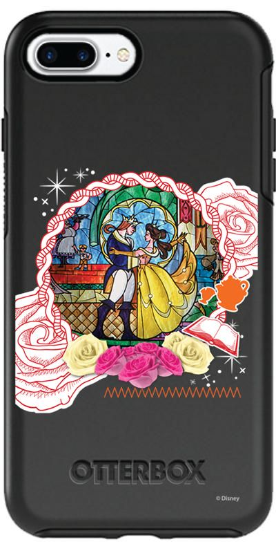 Disney Stained Glass Belle iphone case