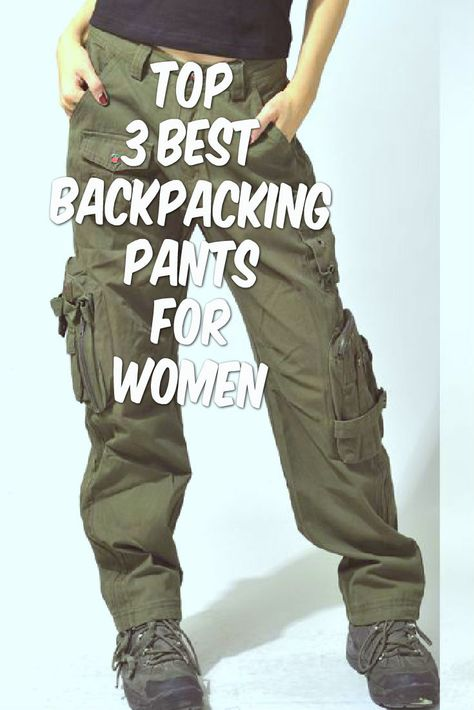 15 Best Backpacking Pants for Women If you've ever gone backpacking in denim or sweatpants, you probably found out the hard way that these types of pants just aren't cut out of hiking activities. When it comes to backpacking gear, your clothes are j Backpacking Tips, Hiking Tips, Camping And Hiking, Outdoor Camping, Outdoor Travel, Camping Hacks, Ultralight Backpacking, Camping Survival, Survival Gear