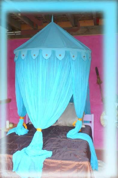 Beautiful Cotton Turquoise Blue Mosquito Net Bed Canopy | Room | Pinterest | Mosquito net bed Bed canopies and Canopy & Beautiful Cotton Turquoise Blue Mosquito Net Bed Canopy | Room ...