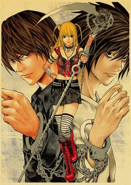 Death Note Posters Retro Posters - Q045 3