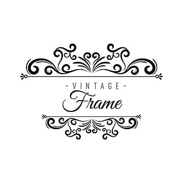 Vintage Frame Frames Png And Vector With Transparent Background For Free Download In 2020 Vintage Frames Vintage Frames Vector Vintage Graphic Design