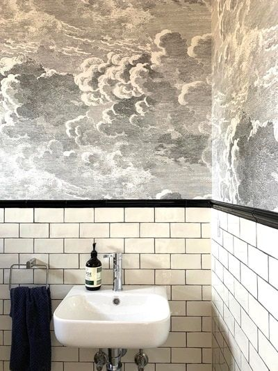 Nuvolette Pearl In 2020 Cloud Wallpaper Wallpaper Design