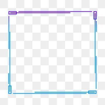 Frame Sense High Tech High Tech Border Blue Purple Box Text Box Transparent Cool Decorativ Page Borders Design Round Border Graphic Design Background Templates