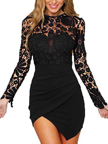 Epingle Sur Robe Sexy Noire