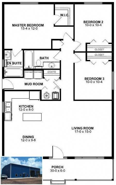 Shouse Ideas Houses And Metal Buildings Garage 1582410473 Beach House Floor Plans House Plans One Story House Plans