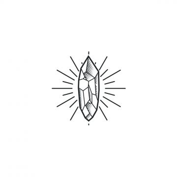 Crystal Drawing Vector Logo Illustration Logo Icons Drawing Icons Symbol Png And Vector With Transparent Background For Free Download Crystal Drawing Hexagon Tattoo Geometric Vector