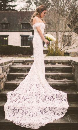 Pronovias Rama Wedding Dress Used Size 6 2 500 Romantic