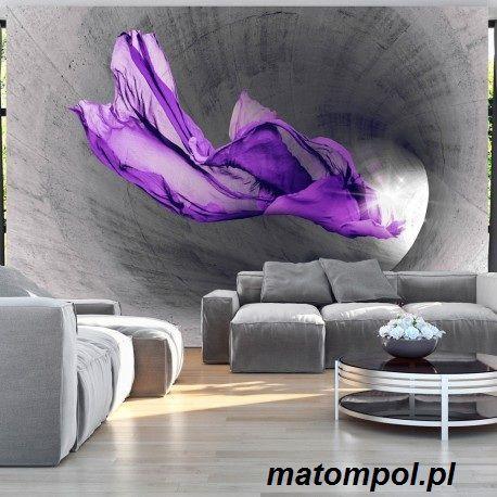 Fototapeta 3d Fioletowa Zjawa 350x245cm 6645215630 Oficjalne Archiwum Allegro Wallpaper Decor Interior Wall Design Wall Art Wallpaper