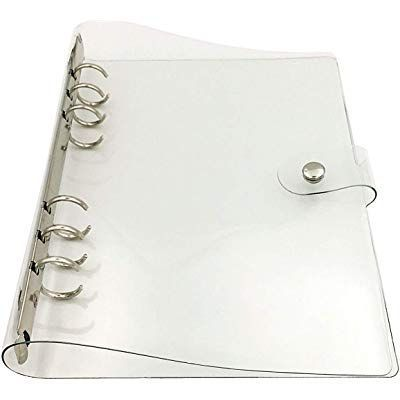 40 Sheets Business Card Holder Binder Pages Clear Sleeves Refill Organizer Book