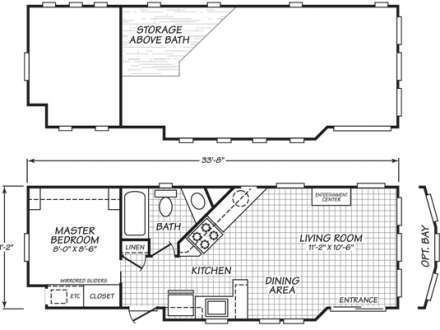 Image Result For 8 X 20 Tiny Home Tiny House Floor Plans Floor
