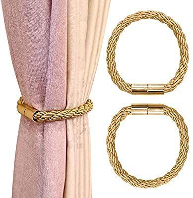 koranny magnetic curtain tiebacks tie