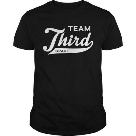 Team Third Grade T-shirt