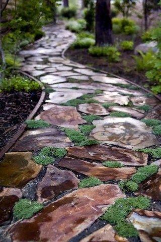 Garden Pathway Ideas For Backyard