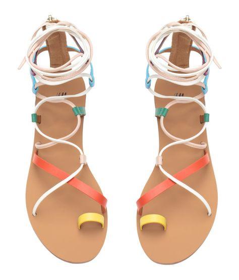 Make that Pedicure POP with 24 Summer Sandals under $50