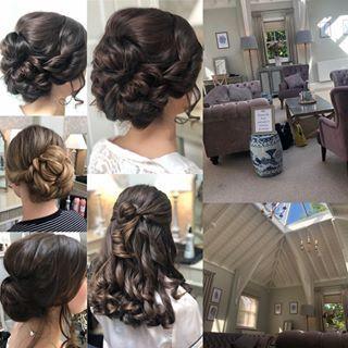Bridal Hair In Hampshire Wedding