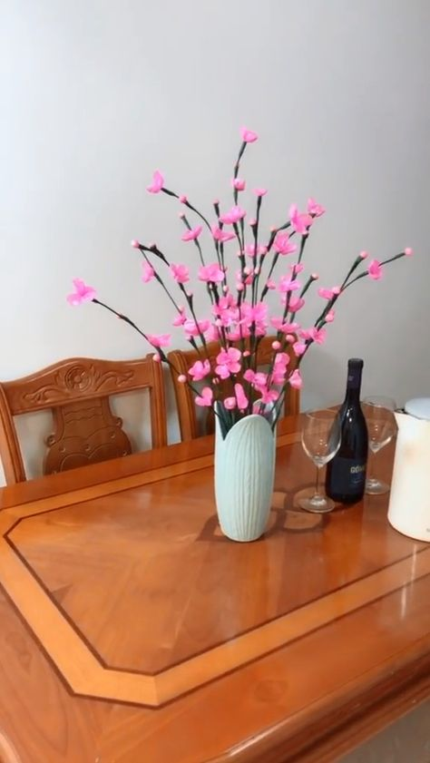Plastic plum handmade video tutorial