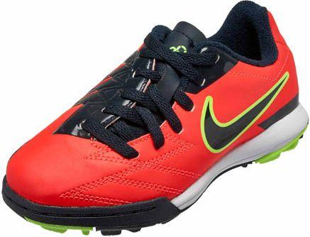 Nike Youth T90 Shoot IV - Crimson Kids