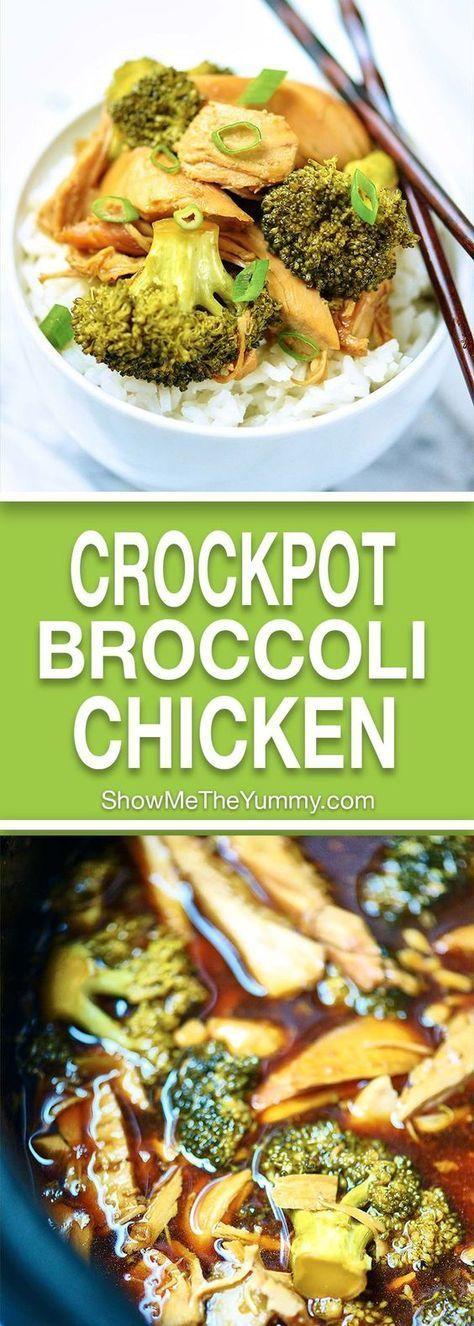 Crockpot Chicken And Broccoli Crock Pot Recipes Huhnchen Rezept Rezepte Gesund Rezepte Mit Brokkoli