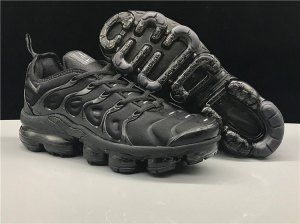huge discount 79f14 b1047 Nike Air Vapormax Plus TN Triple Black Men's Women's Running ...
