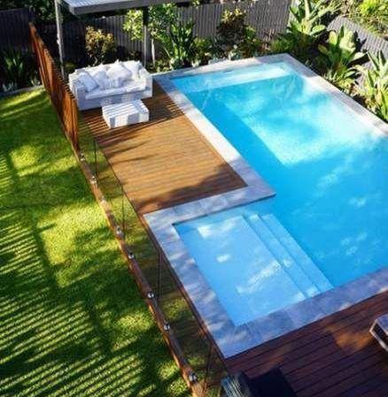 260 Must See Pinterest Swimming Pool Design Ideas And Tips Pools Backyard Inground Backyard Pool Landscaping Backyard Pool