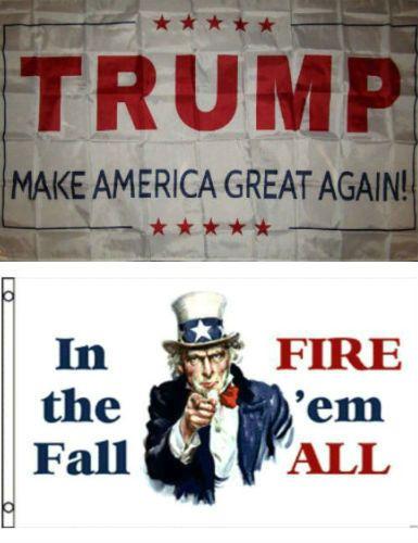 Republican Party Wholesale Flag Set 3/'x5/' 3x5 Trump Make America Great Again