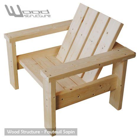 Banc Sapin en 2019 | Meubles jardin | Wood pallet furniture, Deck ...