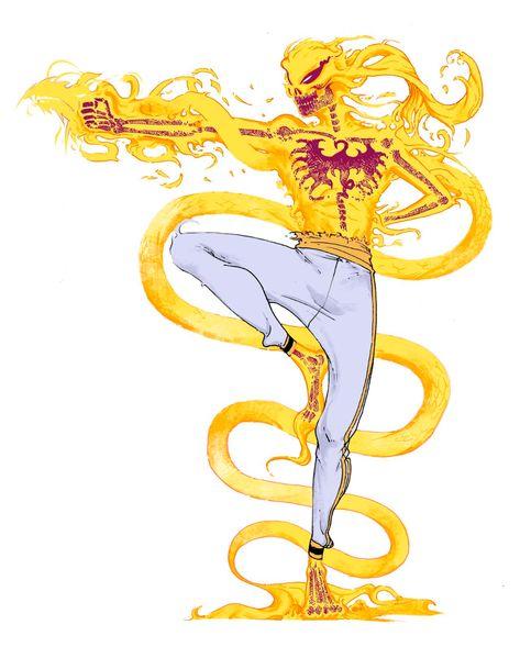 Iron Fist Marvel, Marvel Comic Universe, Marvel Art, Comic Books Art, Comic Art, New Ghost Rider, Alita Battle Angel Manga, Zbrush, Comic Kunst