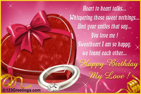 Birthday Cards for Husband with Love – 123 Birthday Greetings for Lover