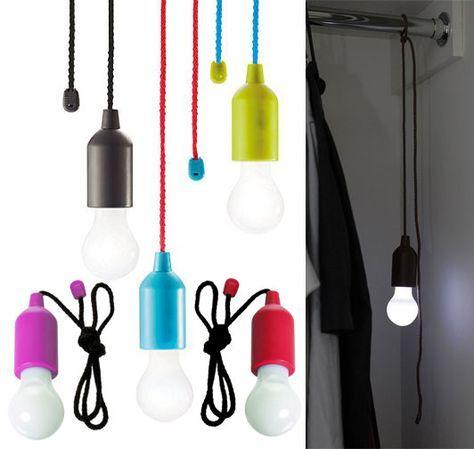 Bright Led Lampe An Der Schnur Kabellose Gluhbirne Mit
