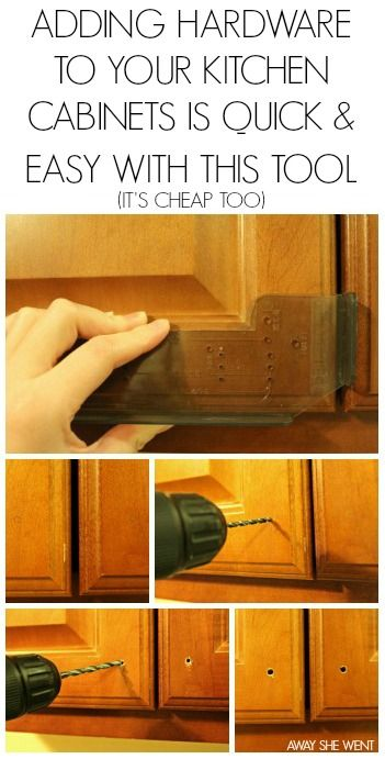 Installing Kitchen Cabinet Hardware Best Of Away She Went Cabinets