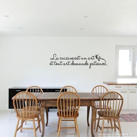 C/'est l/'amour de l/'art français mur chambre salon cuisine sticker decal d/'inspiration