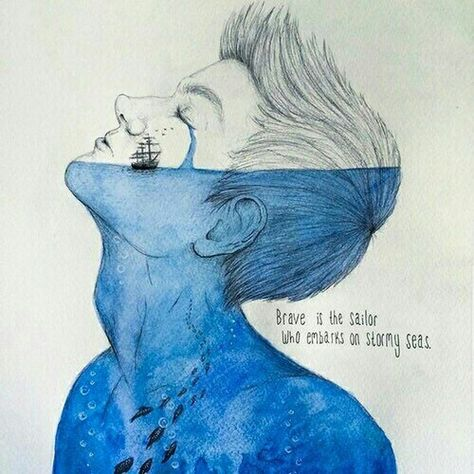 Find images and videos about art, blue and boy on We Heart It - the app to get lost in what you love.