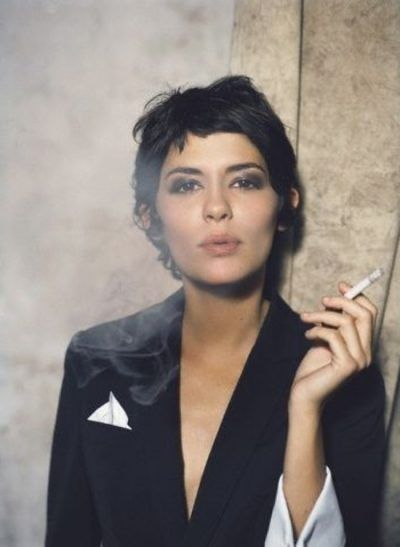 Image Result For Audrey Tautou Short Hair Celebrity Short Hair Short Hair Styles Short Wedding Hair