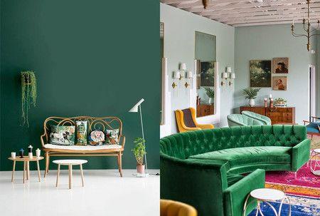 Tonos Verdes Para Interiores