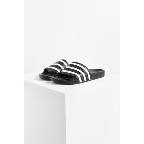 4217d7573ab adidas Originals Adilette Pool Slide ( 30) ❤ liked on Polyvore featuring  shoes