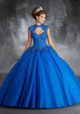 Vestidos De Xv Años Color Azul Vestidos De 15 Años En