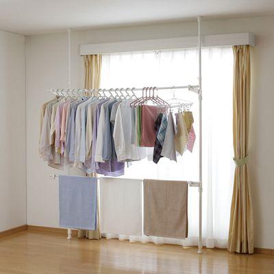 洗濯物を干す場所がない 部屋が狭いから 場所をとる室内物干しは