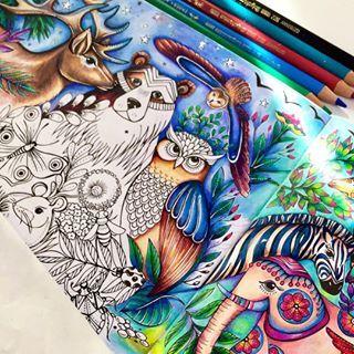 Rita Berman Rita Berman Instagram Fotos Und Videos Coloring Book Art Coloring Books Drawings
