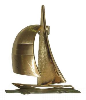 Colby Smith Sailboat Door Knocker Knockers Pinterest Doors And S